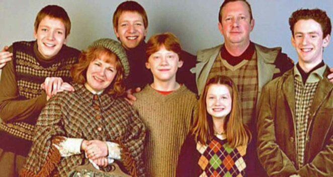 weasley ailesi rowling