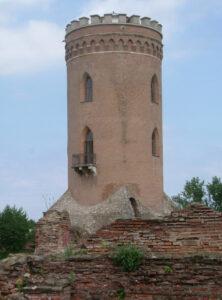 Drakula'nın yaptırdığı Chindia Kulesi. Gözcülük haricinde kazıklanmış insan ormanını seyrettiği yer. 15. yüzyıl.