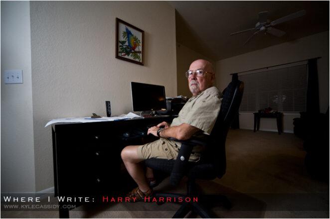 harry harrison where i write