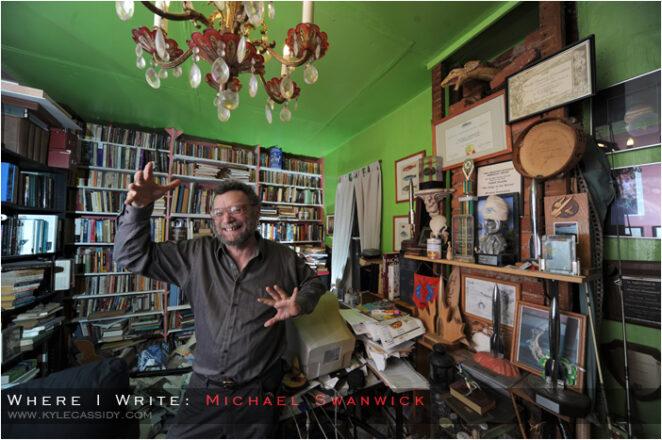 michael swanwick çalışma odası