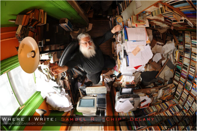 samuel r delany where i write