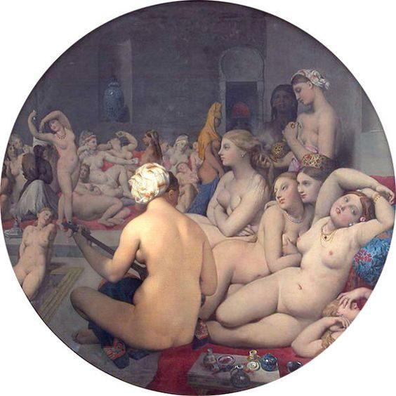 Le Bain Turc, İngres, 1863