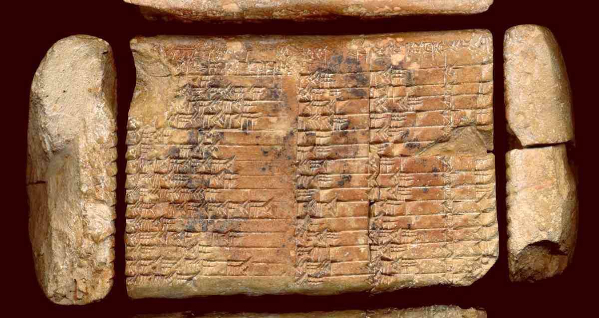 The Babylonian tablet Plimpton 322
