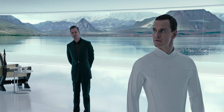alien Michael Fassbender covenant
