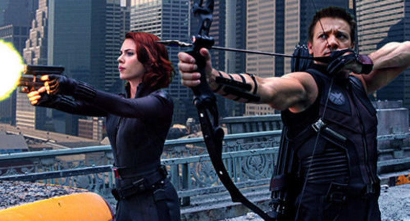 Black Widow ve Hawkeye