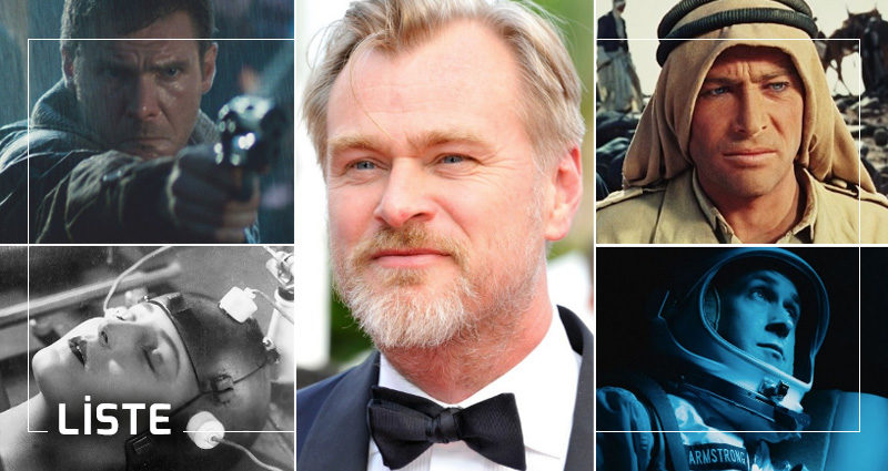Christopher Nolan liste