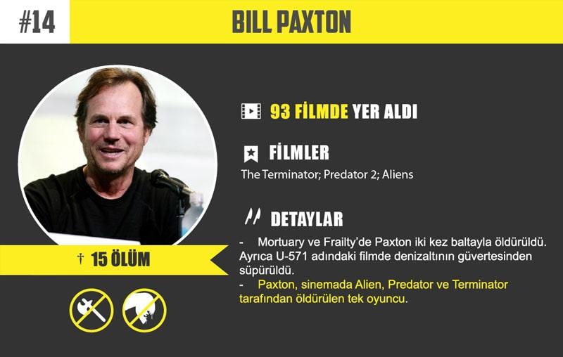 #14 Bill Paxton