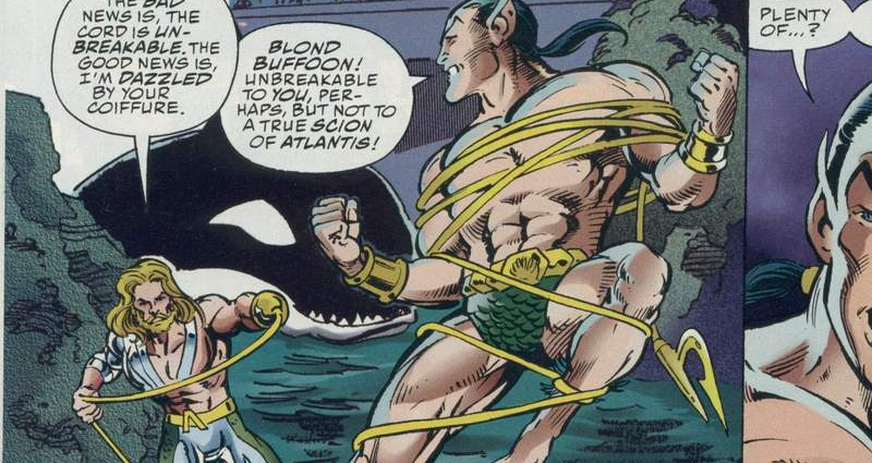DC vs Marvel aquaman