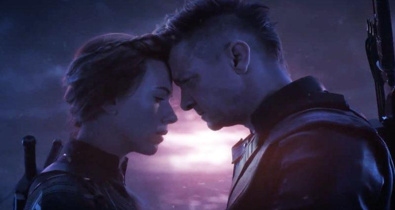 Black Widow ve Hawkeye
