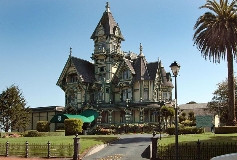 Carson Mansion Steampunk