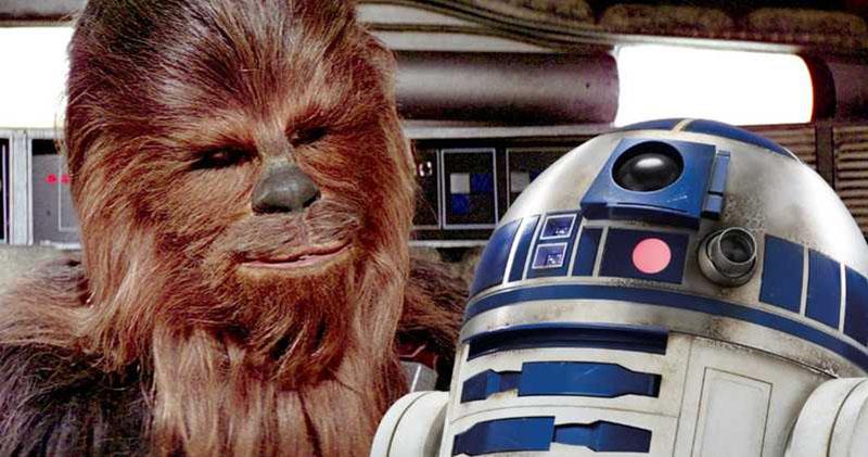 Chewbacca ve R2D2