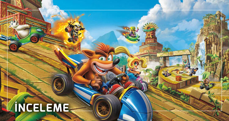 Crash Team Racing Nitro-Fueled inceleme
