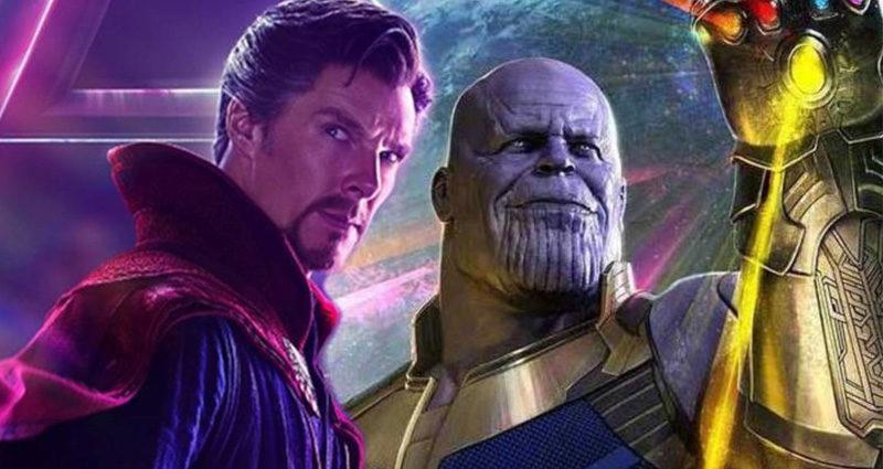 Doctor Strange Thanos Avengers