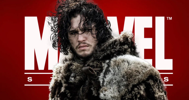 Game of Thrones Kit Harington Marvel