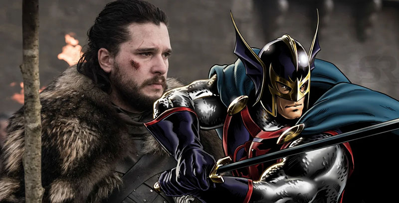 Kit Harington Marvel black knight