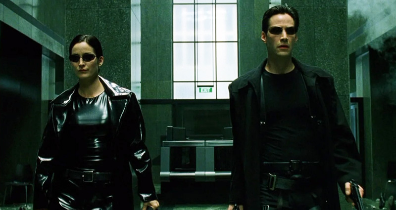 The Matrix 4 Neo ve Trinity