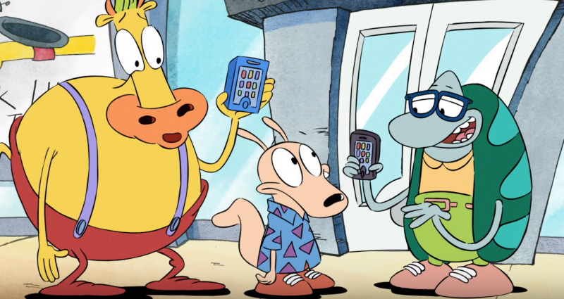 Rocko's Modern Life Static Cling