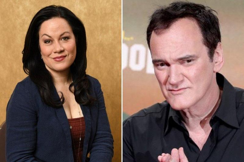 Shannon Lee Quentin Tarantino