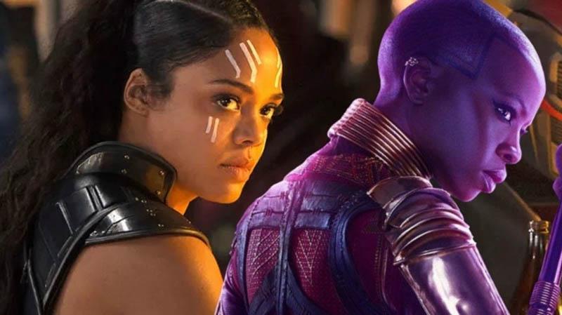 Avengers: Endgame Okoye-Valkyrie