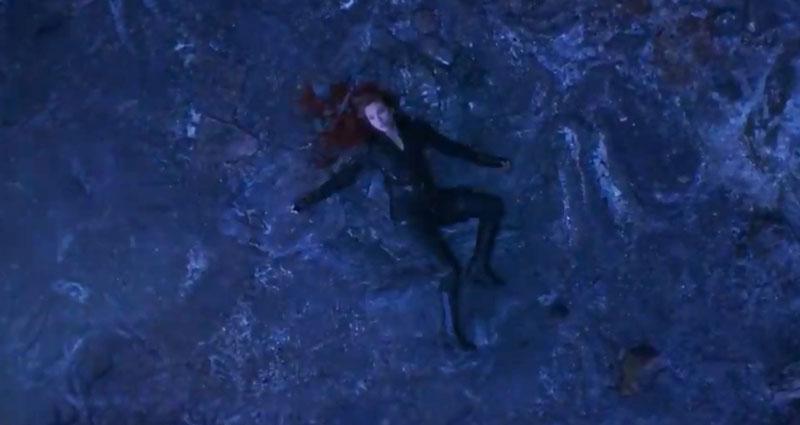 Black Widow ölüm sahnesi