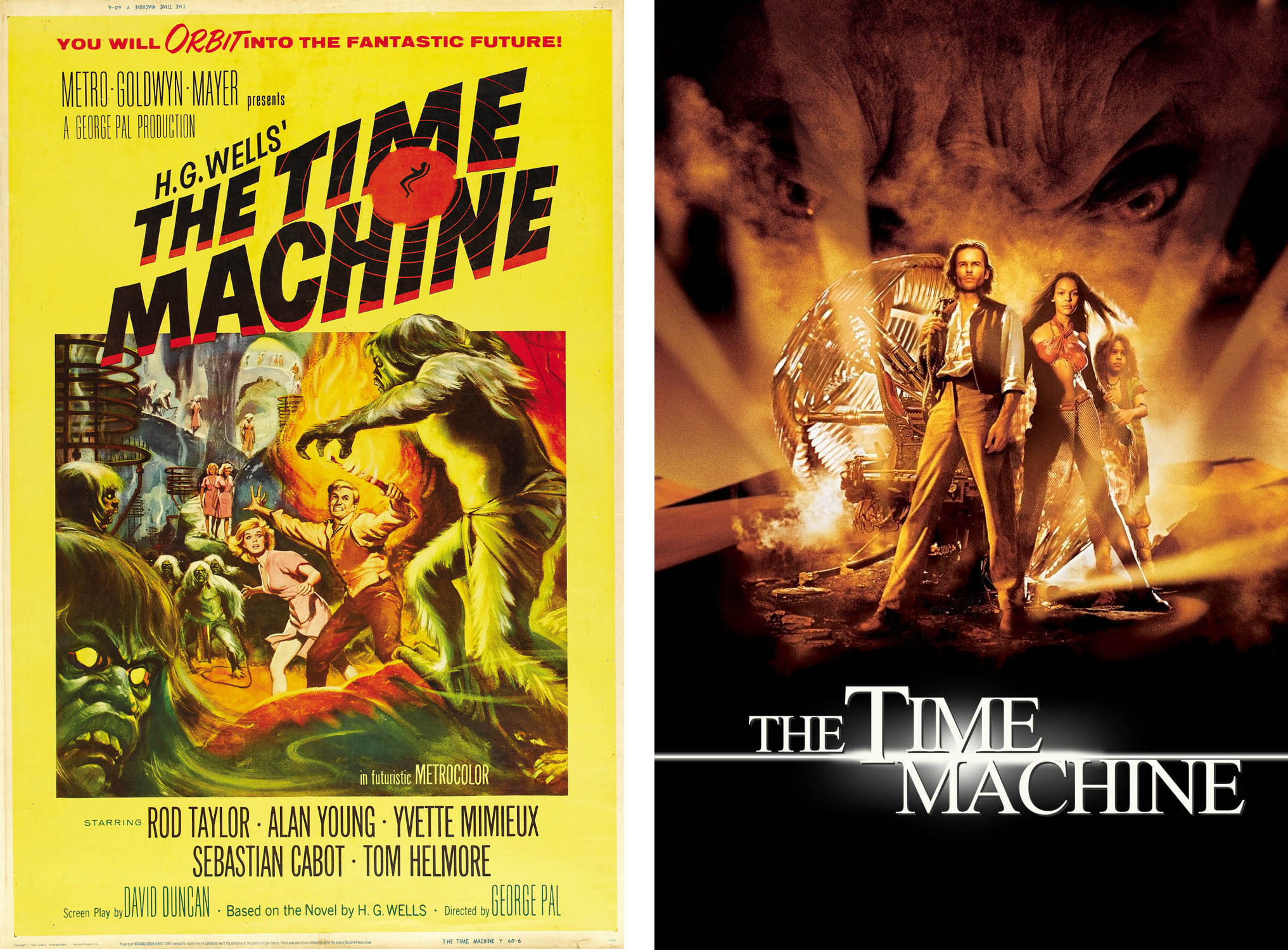 the time machine filmleri