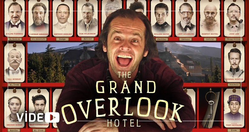 "Wes Anderson'ın ""The Grand Budapest Hotel""ına Kubrick'in ""The Shining""i Konuk Olursa"