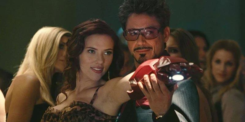 Iron Man Black Widow 2