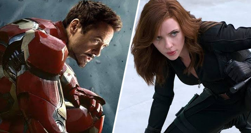 Iron Man - Black Widow