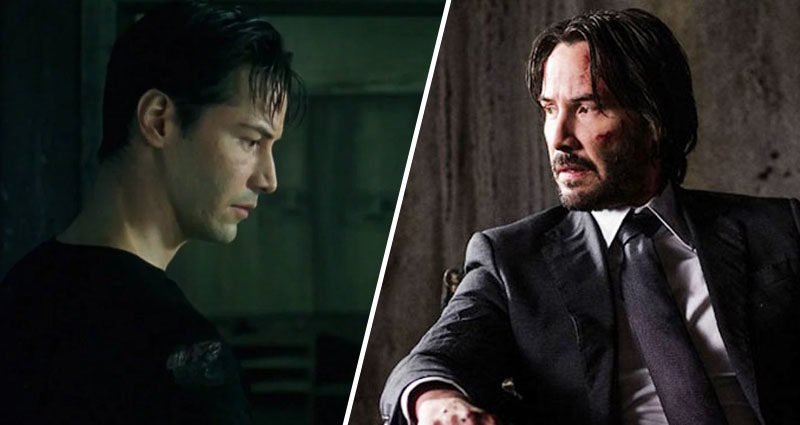 the matrix neo john wick