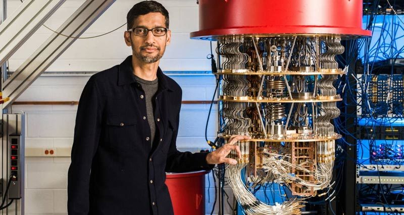 google kuantum bilgisayar