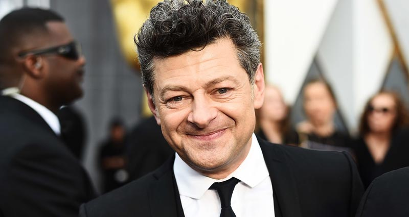 The Batman andy serkis alfred