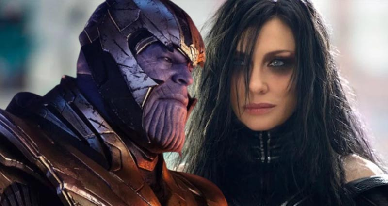 Avengers: Endgame hela ve thanos
