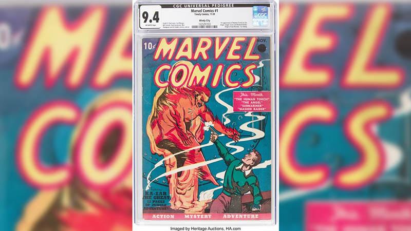 Marvel İlk Çizgi Roman