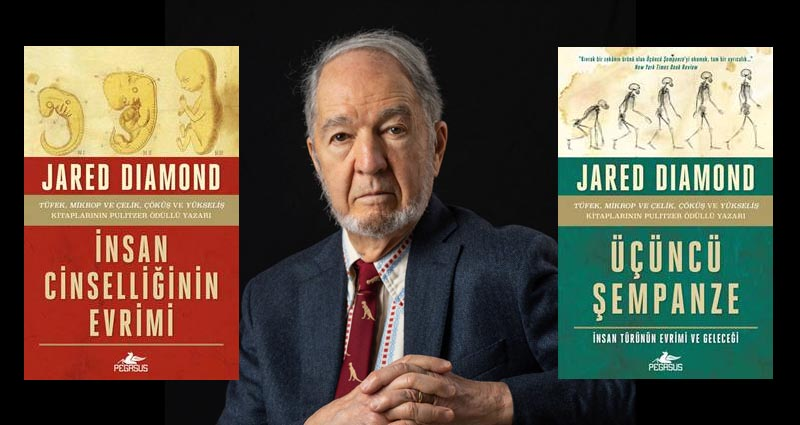 Jared Diamond yeni kitaplar