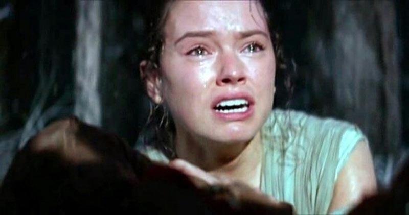 Star Wars The Rise of Skywalker rey sad