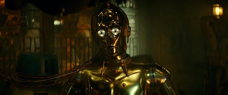 C-3PO in STAR WARS: THE RISE OF SKYWALKER
