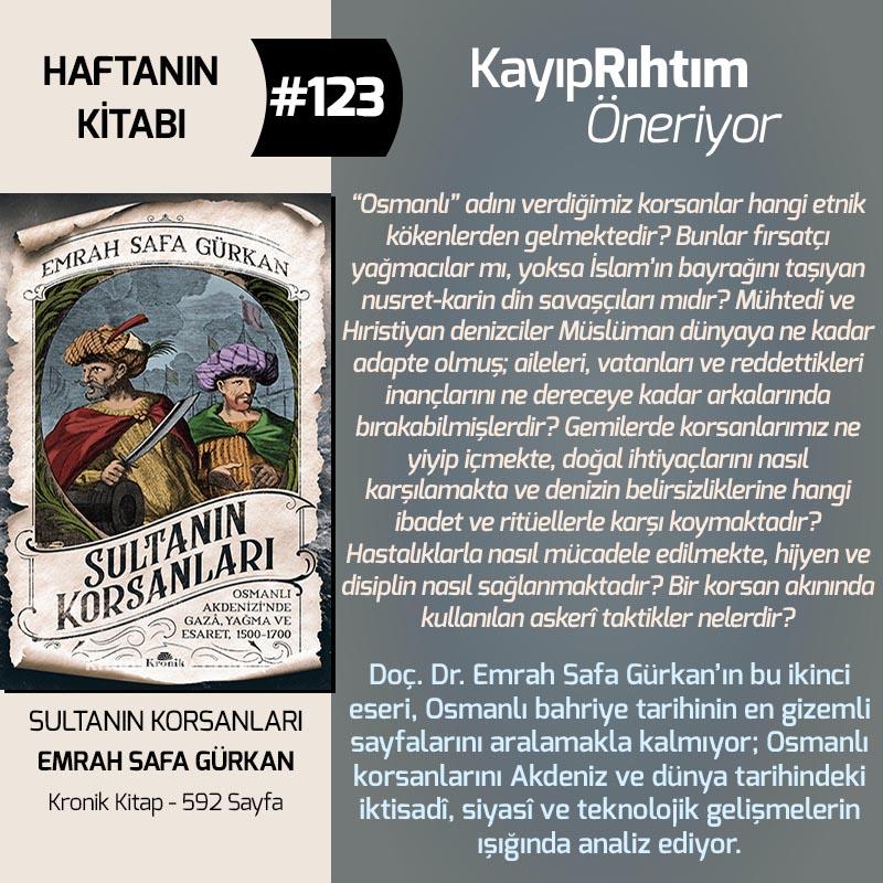 Haftanın Kitabı #123 – Sultanın Korsanları
