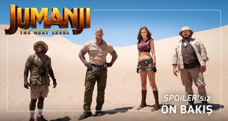 Jumanji: The Next Level Nasıl Olmuş? (Spoiler'sız Video İnceleme)