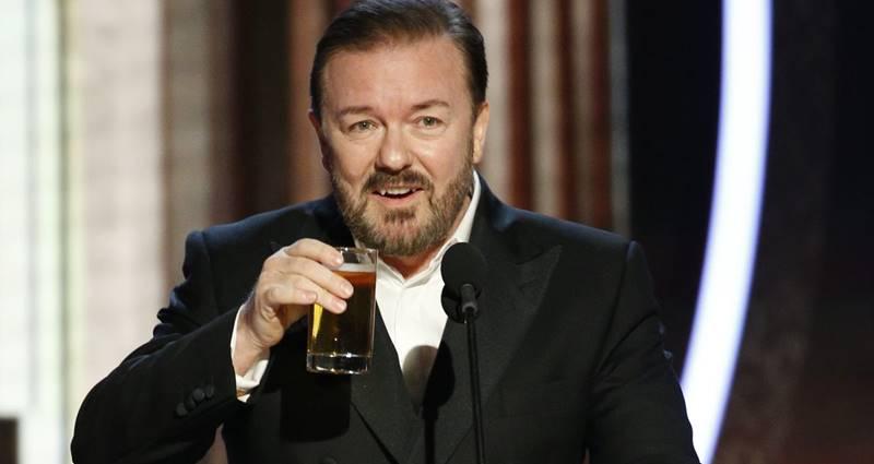 Ricky Gervais 2020 Golden Globe Konuşma