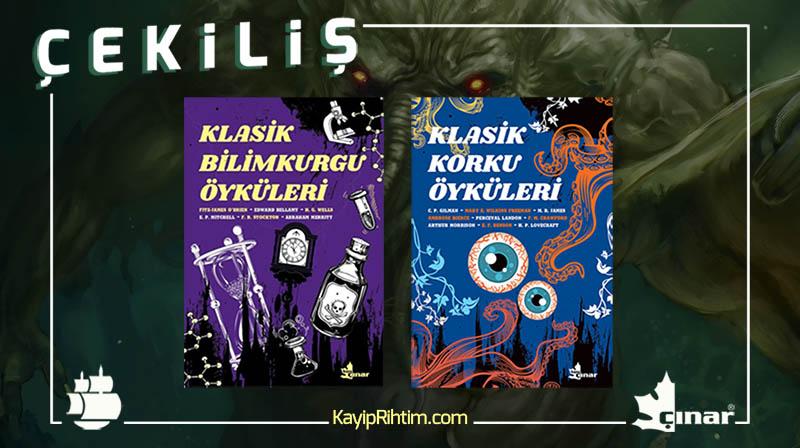 ÇEKİLİŞ: Çınlar Yayınları 2 Kitaplık Set