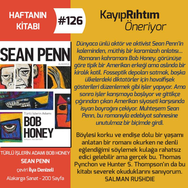 Haftanın Kitabı #126 – Türlü İşlerin Adamı Bob Honey