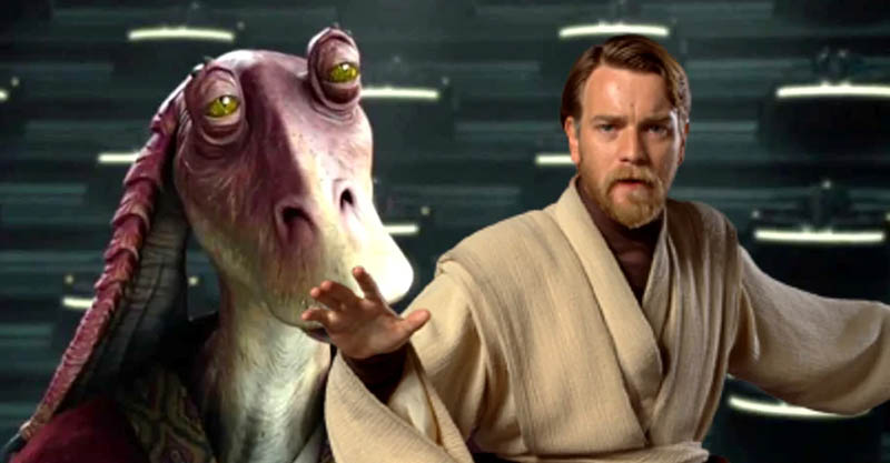 Star Wars Obi-Wan Kenobi Jar Jar Binks
