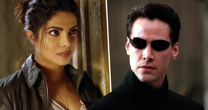 The Matrix Priyanka Chopra Jonas