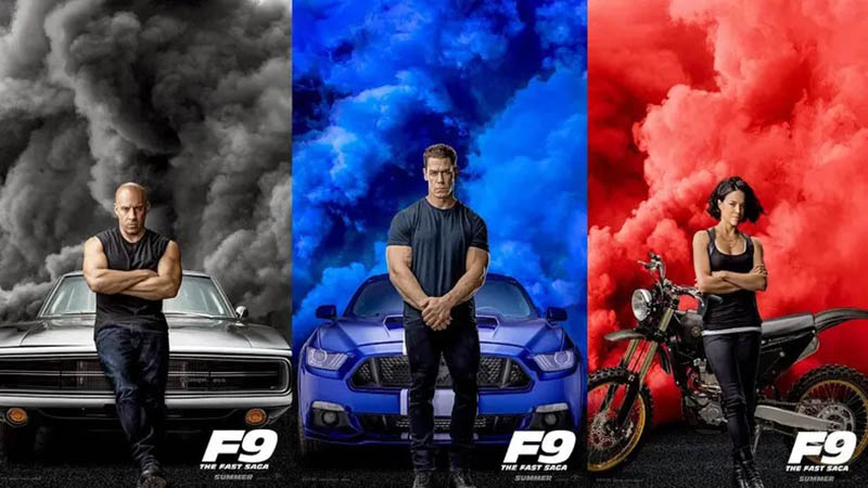 Fast and Furious 9 posterler