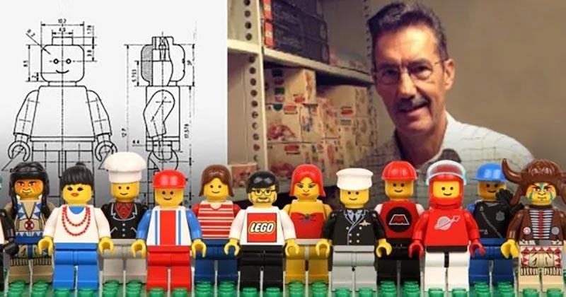 Jens Nygaard Knudsen lego mini figür
