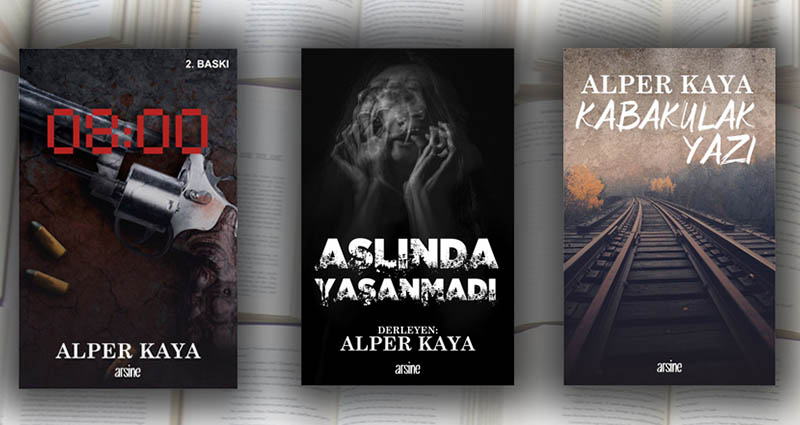 alper kaya 3 yeni kitap