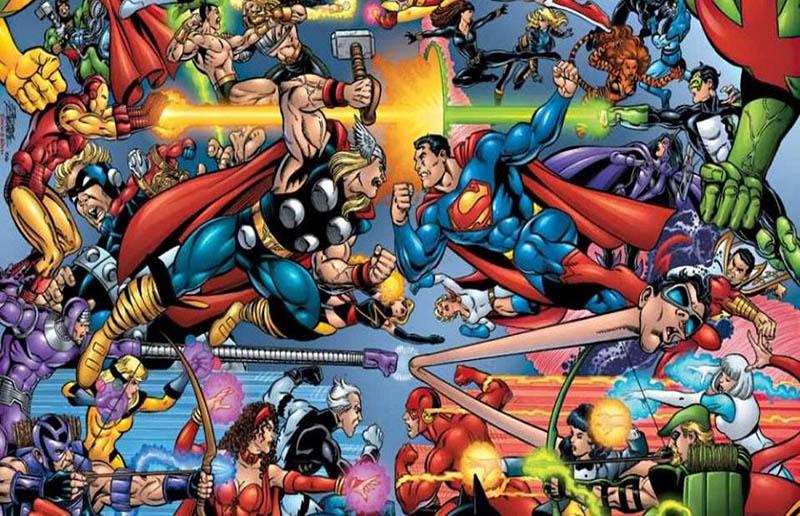 DC Comics ve Marvel Evreni Yeniden Birleşebilir!