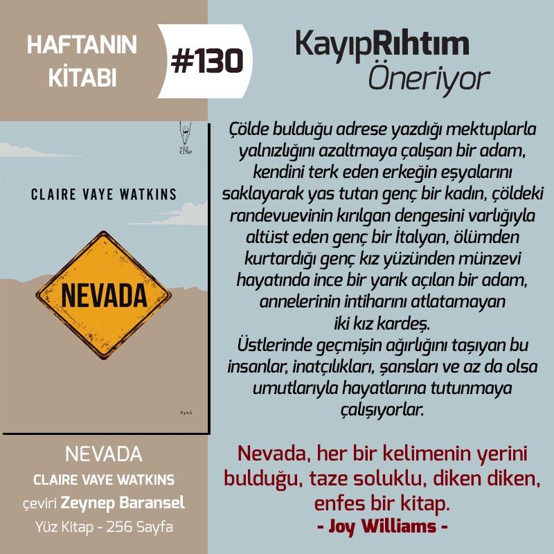 Haftanın Kitabı #130 – Nevada