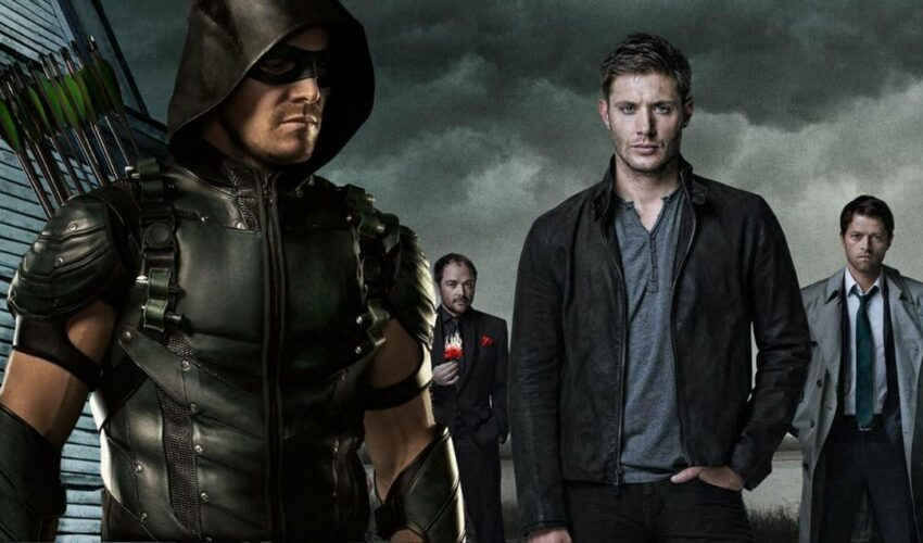Arrowverse Supernatural Legends of Tomorrow