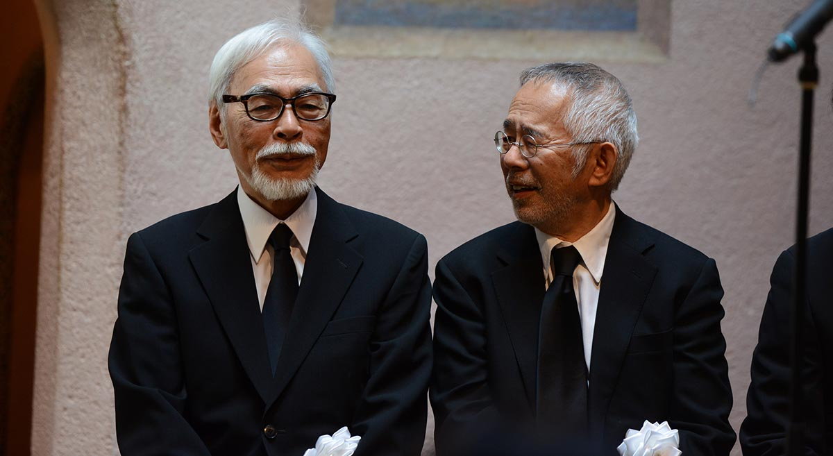 Hayao Miyazaki ve Toshio Suzuki